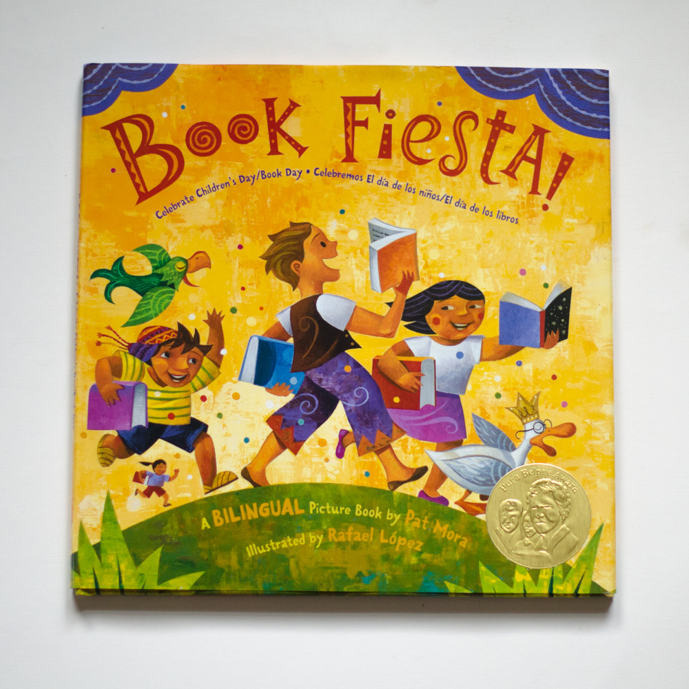 Book Fiesta by Part Mora, Illustrated by Rafael Lopez