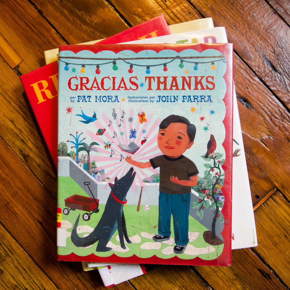 Gracias Thanks by Pat Mora Illustrated by John Parra